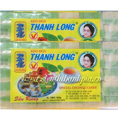 Kẹo dừa sầu riêng 2 màu