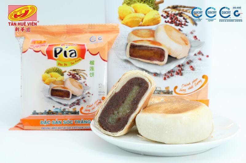 bánh pía đậu đỏ Tân Huê Viên