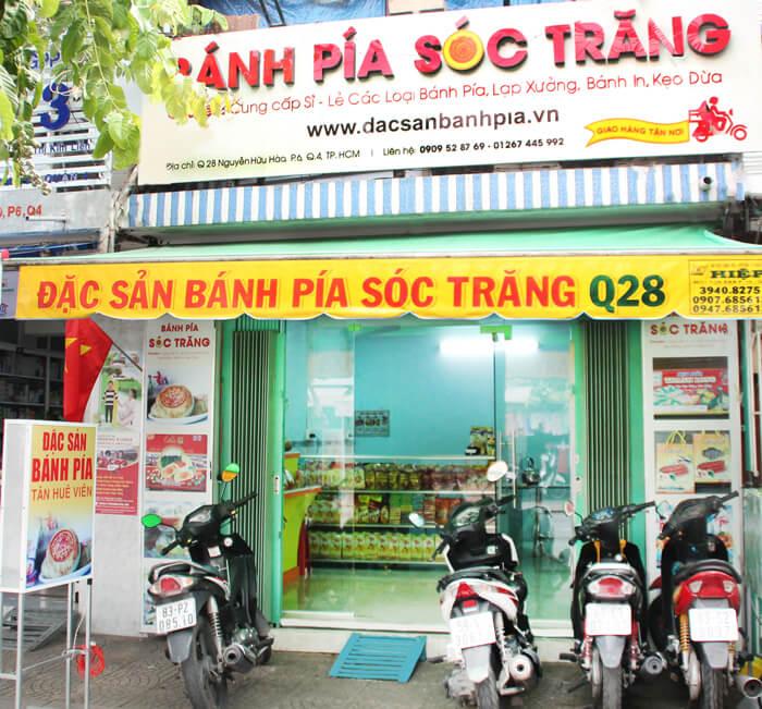 Cửa hàng bánh Pía Sóc Trăng